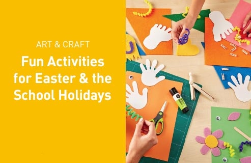 Fun activities for Easter & the School Holidays