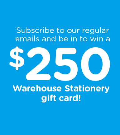 Warehouse Stationery Gift Card
