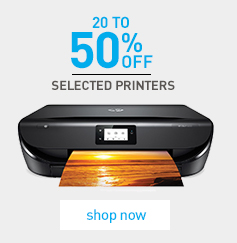20-50% off Selected Printers